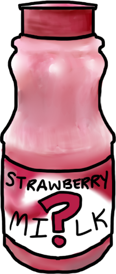 strawberry milk (Cynthia)