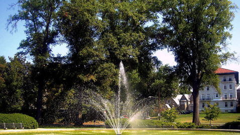Fountain at Chevy Chase Sparks Debate