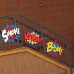 """""""Smash"""" """"K'Pow"""" """"Boom"""""""